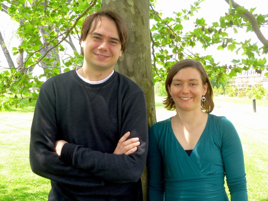 Gary Prince (guitar) & Sarah Foard (violin)
